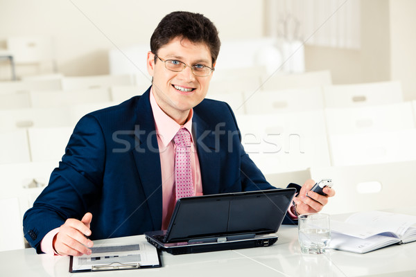 Stock photo: Successful manager