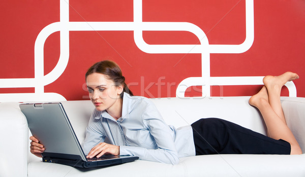 Stock photo: Computer work