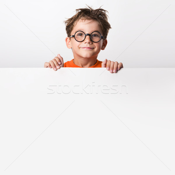 Stock photo: Cute infant