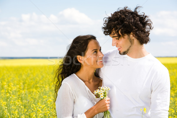 Stock photo: Mutual attraction