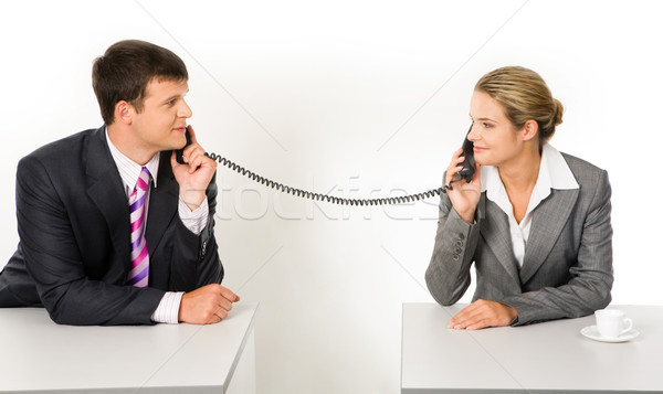 Stock photo: Negotiations