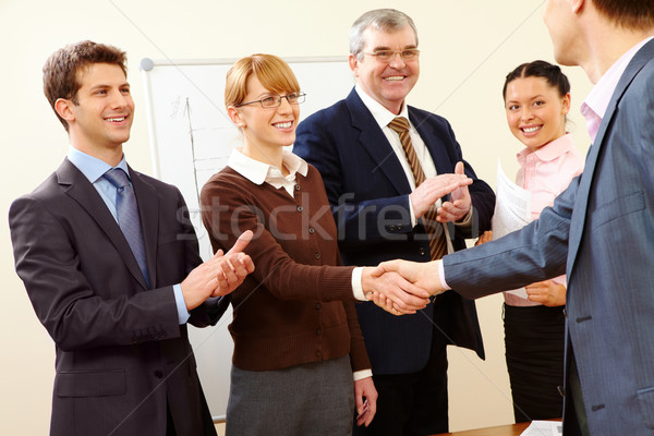 Stock photo: Successful handshake