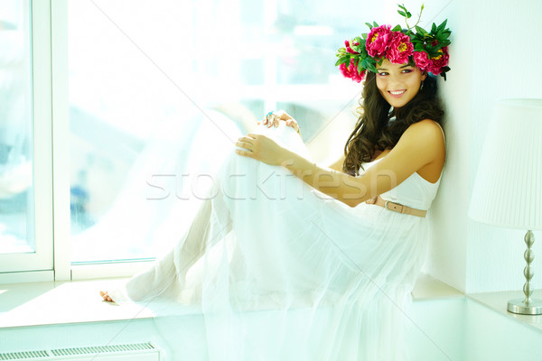 Stock photo: Greek goddess