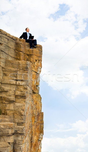 Stock photo: Work outdoor