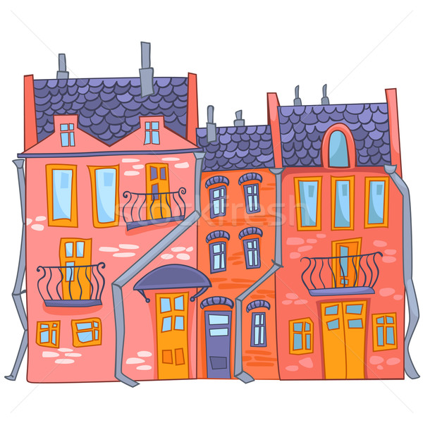Stock photo: Cartoon House