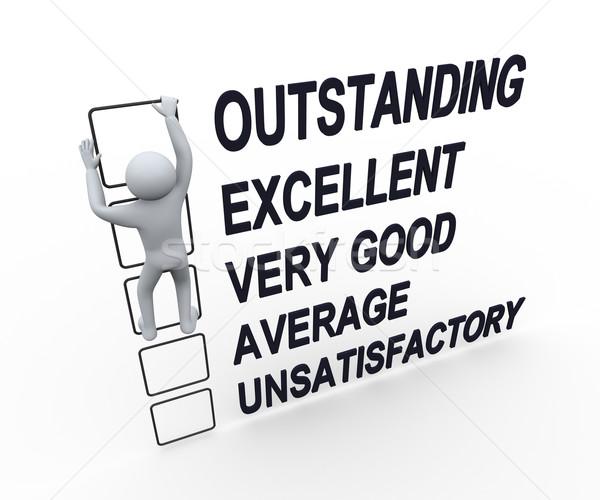 3d man performance evaluation form stock photo ribah nasir – Performance Evaluation