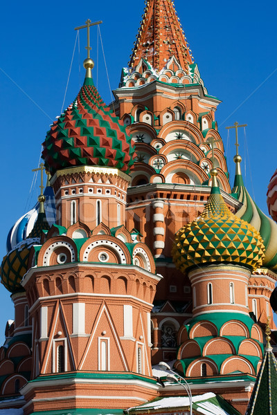Stock photo: St Basil's Cathedral