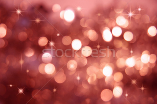 Stock photo: Twinkle, twinkle little stars/Red