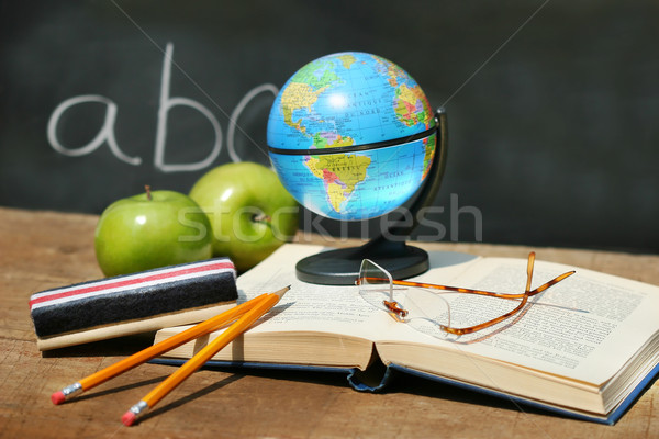 Stock photo: School studies