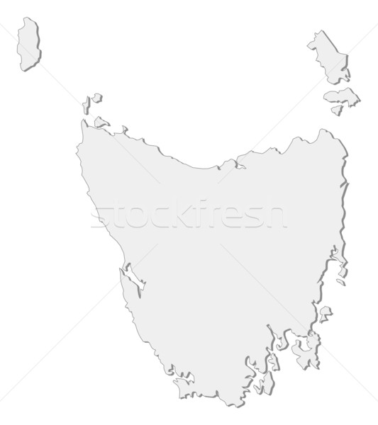 clipart map of tasmania - photo #19