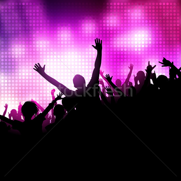 Stock photo: Party Music Vector