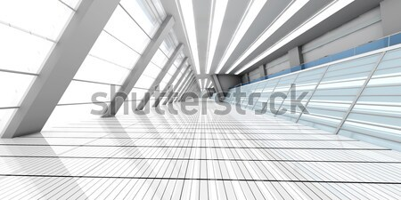 Stock photo: Airport Architecture