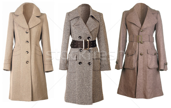 Stock photo: Coats