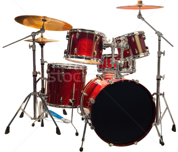 Stock photo: Drums cutout