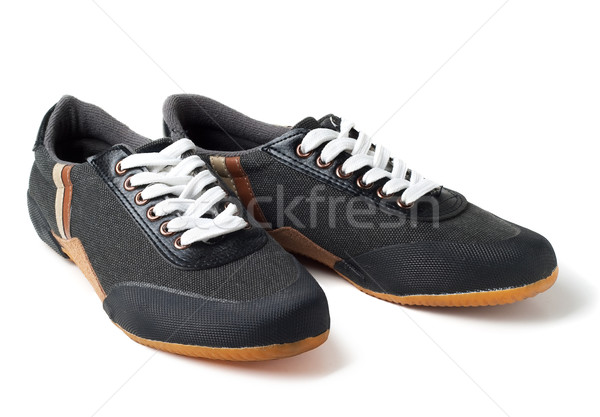 Stock photo: Sports shoes isolated