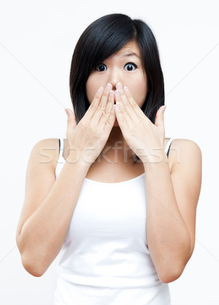 Stock photo: Unbelievable!