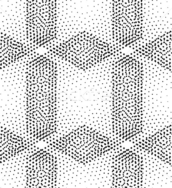 Stock photo: Vector seamless pattern rhombuses