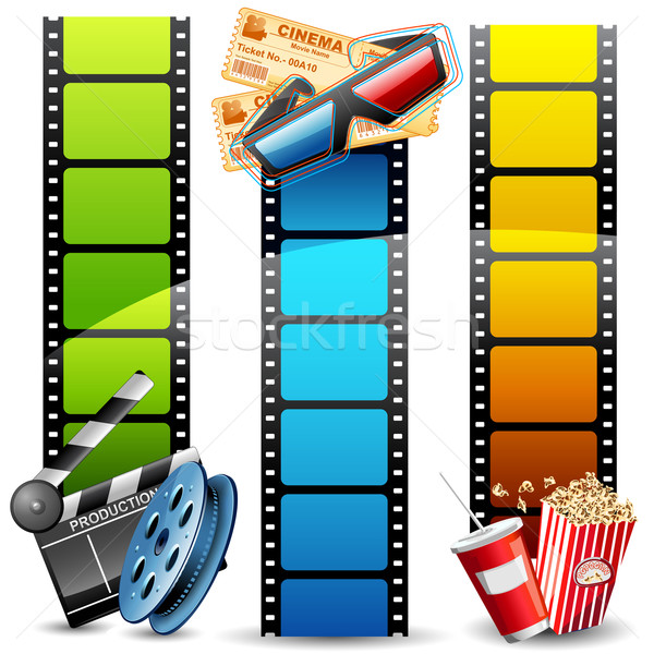 Movie Template vector illustration © vectomart (#1432188 ...