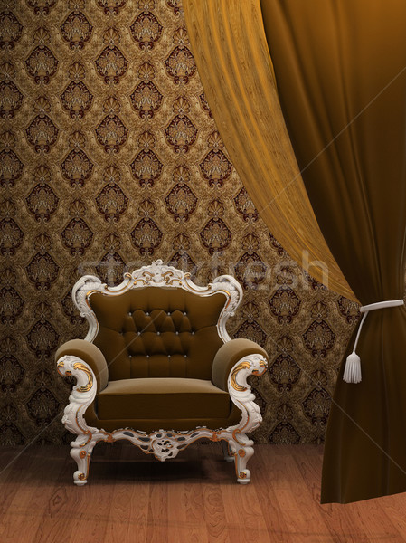 Stock photo: Old Styled Interior
