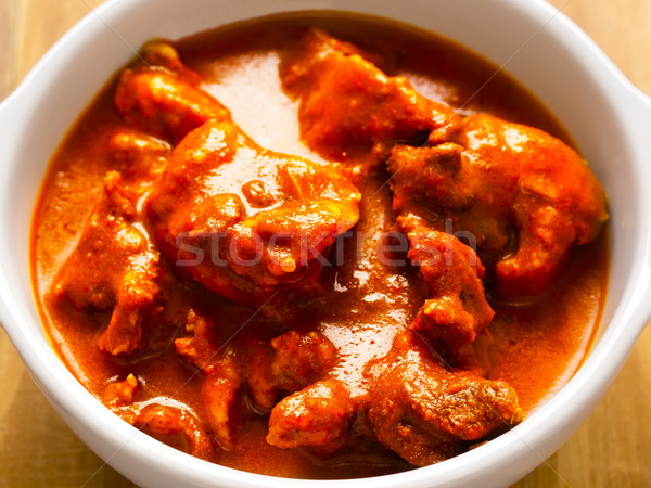 Stock photo: indian mutton curry